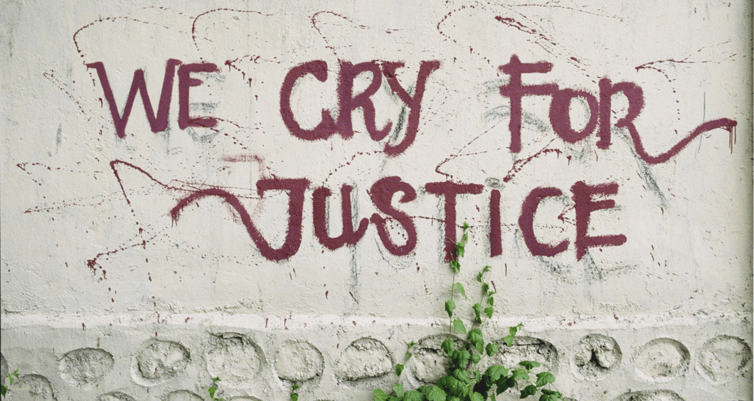 Photo: We Cry for Justice by David Haigh - License: CC BY 2.0